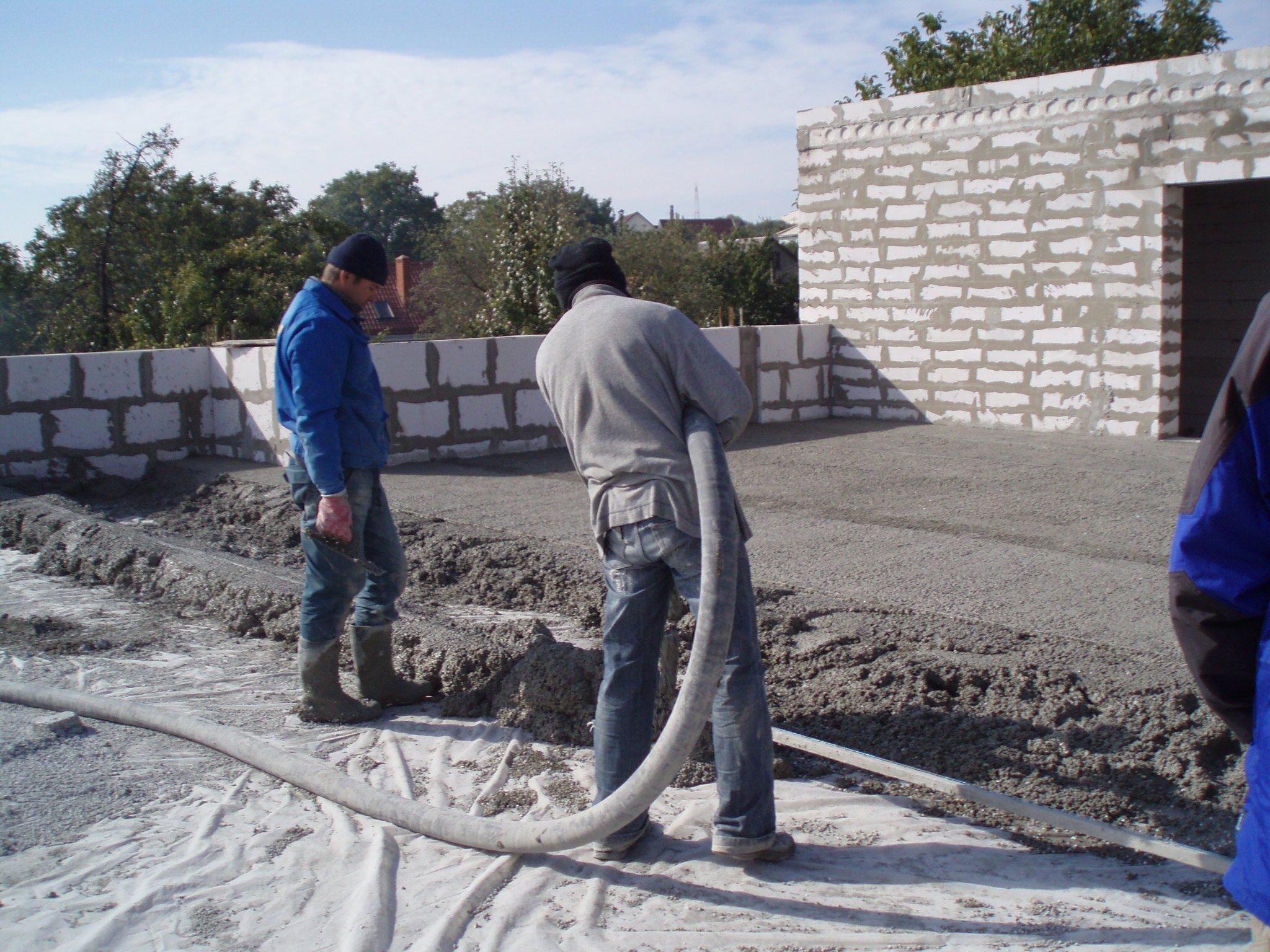 Разуклонка из керамзитобетона расценка смесь бетонная в15 м200 цена в мешках